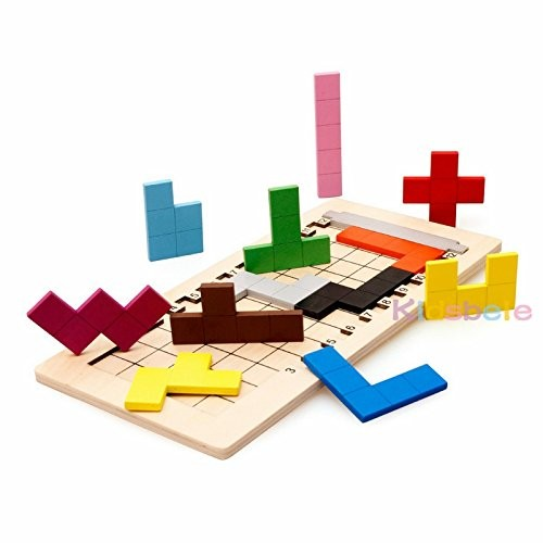 Kids Building Block Playing Wooden Montessori Toys Learning Eucational Brinquedos Math W020