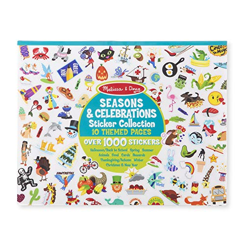 Melissa & Doug Sticker Collection – Seasons Celebrations