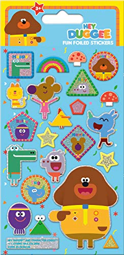 Paper Projects 017006138 Hey Duggee Foiled Sticker Pack Various