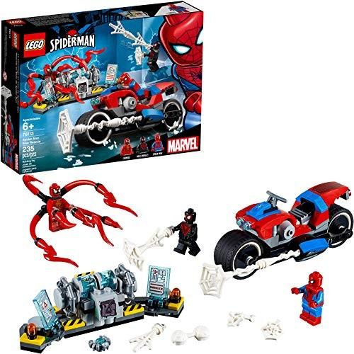 LEGO Marvel Spider-Man Spider-Man Bike Rescue 76113 Building Kit 235 Pieces