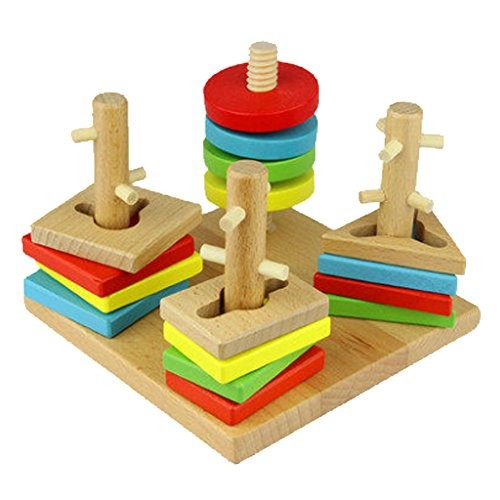 Kylin Express Children's Educational Geometry Disassembly Toy Building Blocks