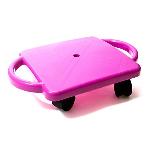Educational Manual Plastic Scooter Board with Safety Handles   16 x 11 inches  Perfect