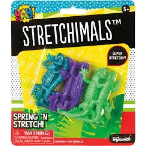 Toysmith Stretchimals Toy Multi