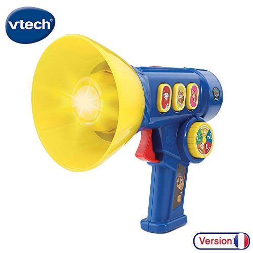 VTech Pat Patrouille Le mgaphone interactif de Chas French Toy