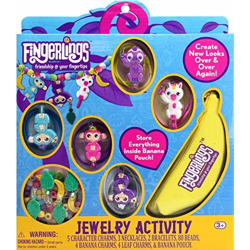 Tara Toys Fingerlings Jewelry Activity Arts and Crafts Kit Varies