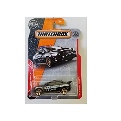 Matchbox MBX Rescue 15 Subaru WRX STI 67/125 Police Car 14/30 Of Series