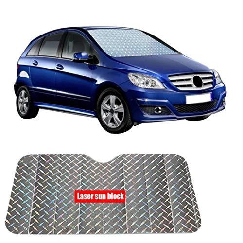 Sacow Sun Shade for Car Foldable Window Visor Windshield Laser Film Front Rear Block C