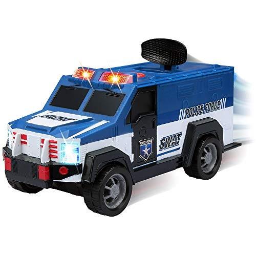 Kid Galaxy Motorized Swat Car Blue