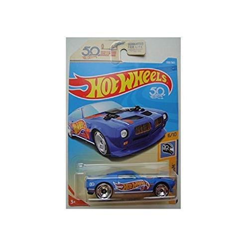 Hot Wheels HW 50 RACE TEAM 6/10 BLUE '70 PONTIAC FIREBIRD 288/365