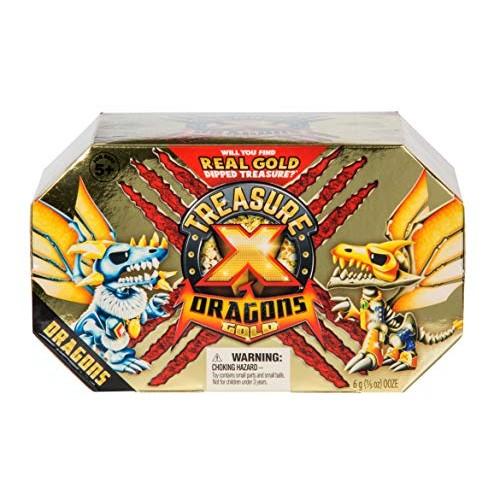 Treasure x Quest for Dragons Gold – Deluxe Dragon Figure