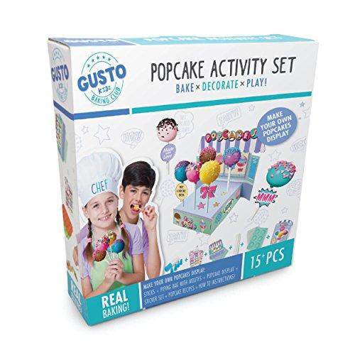 Gusto Bake Decorate Play Popcake Activity Set