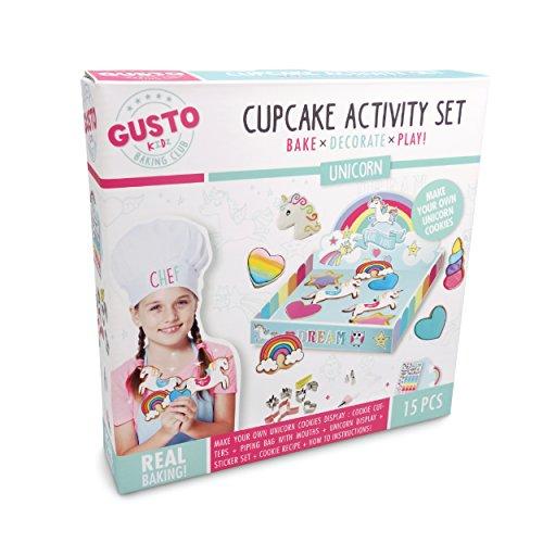 Gusto Unicorn Cookie Activity Set – Bake Decorate Play