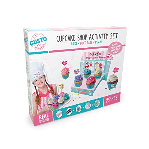 Gusto GD 18009 Bake Decorate Play Cupcake Shop Activity