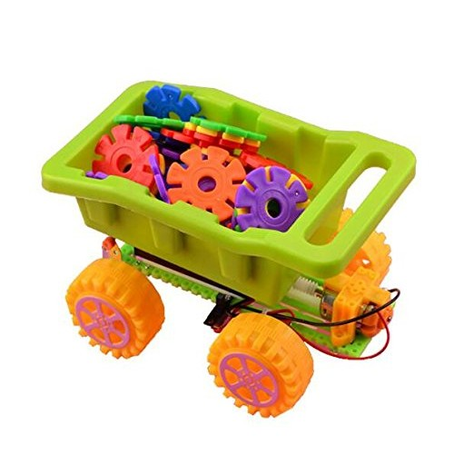 lala dream DIY Electric Dump Truck Engineering Car Scientific Physics Experimental Educational Toys Toy Model Accessories