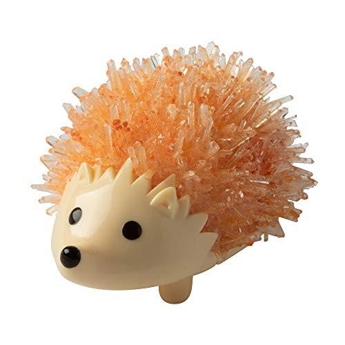 Fat Brain Toys Crystal Growing Hedgehog – Orange Maker & DIY Kits for Ages 10 to 12