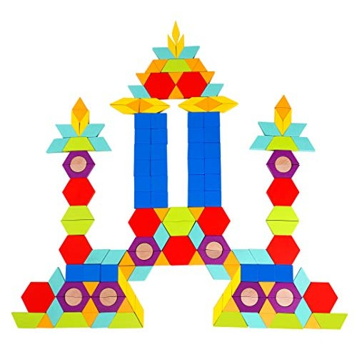 Fat Brain Toys GeoMagic Mosaics Building & Construction for Ages 3 to 5