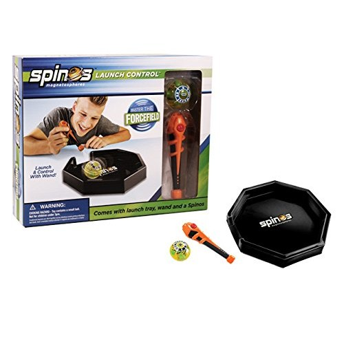 Diggin Spinos Launch Control – Power Wand Connects to Magnetic Force Field