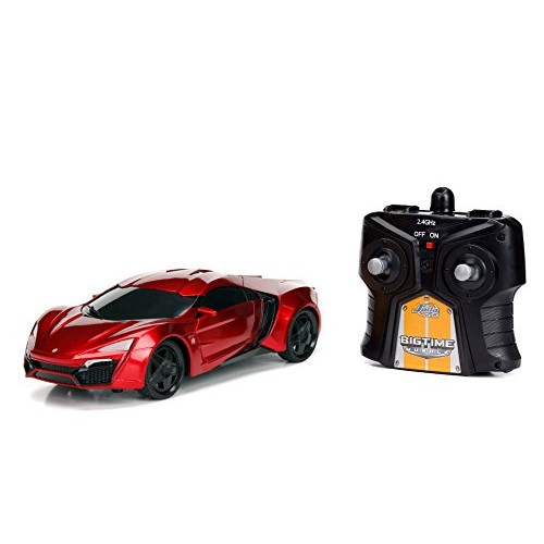 Jada Toys Fast & Furious 75 Big Time Muscle RC – Lykan Hypersport Candy