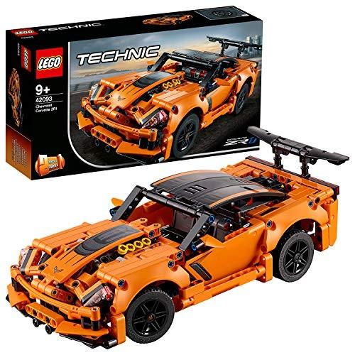 LEGO Technic Chevrolet Corvette Zr1 Replica 2 in 1 Collectible Car Model Advanced Construction Set