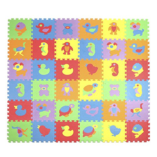 ADSRO Baby Crawling Mat Non-slip Thicken Washable Carpet Puzzle Softer EVA Foam Pad Child Bedroom Decorate Living Room