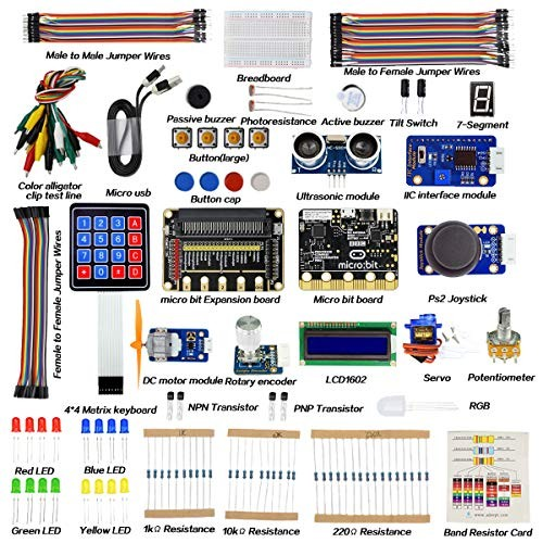 Adeept BBC Micro bit Starter Kit Electronic microbit for with 31 Projects Tutorial Book PDF