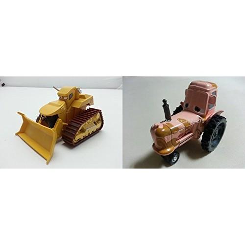 Pixar Cars Toys Diecast Chuy El Materdor & Tractor Metal 1:55 Scale
