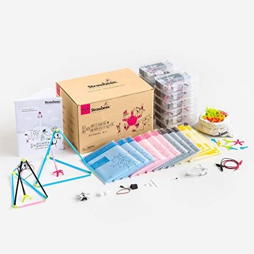 Strawbees Coding & Robotics Kit STEM Building and Programming School 1630 Pieces
