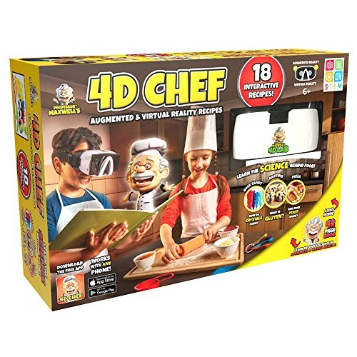 Professor Maxwell's 4D Augmented Reality Science Kit – CHEF
