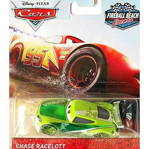 Cars Chase Racelott Diecast 1:55 Scale Fireball Beach Racers Edition
