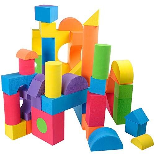 lishumao Foam Building Blocks – in multiple colors and shapes