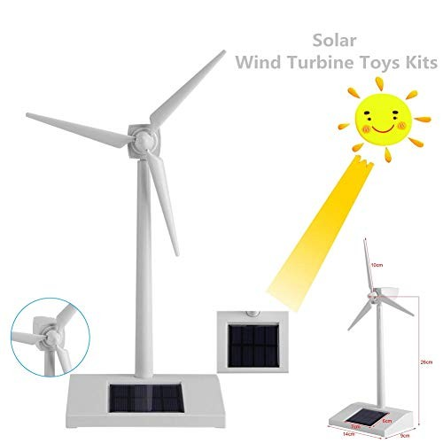 Acogedor Solar Windmill Toys Energy Children Science Teaching ToolSolar for Kids Education or FunChild Birthday Gift