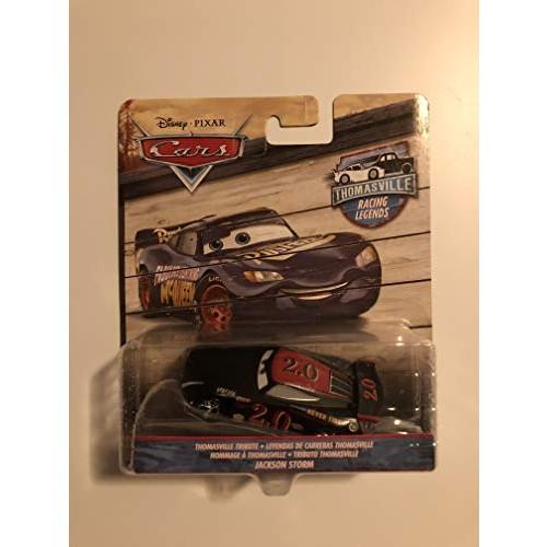 Thomasville Racing Legends Disney Cars 1:55 Die Cast Car #20 Jackson Storm Sputter Stop