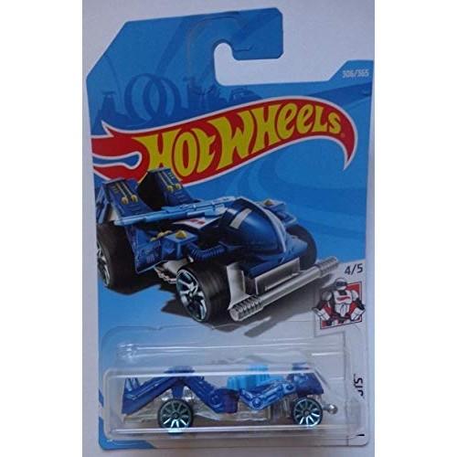 Hot Wheels Mattel 2018 Hw Robots – Zombot Dark Blue 306 365