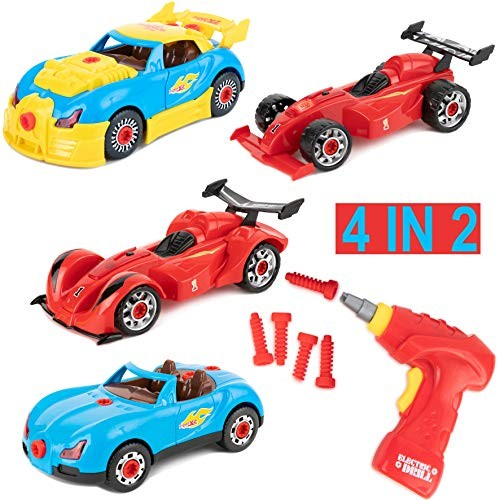 Toy To Enjoy 4 in 2 Build Your Own Racer Car Set  53