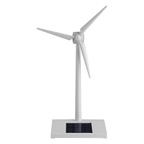 Zerodis Solar Wind Mini Powered Windmill Toy Kids Children Science Teaching Tool Home Decoration