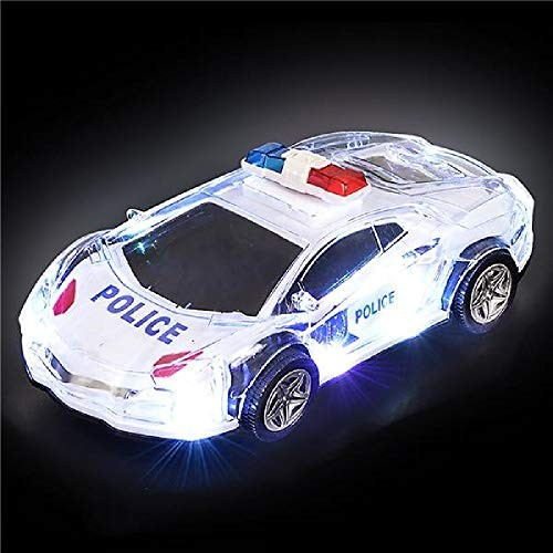 Shop Zoombie 85 Bump & Go Action Police Car with LED Lights Sound and