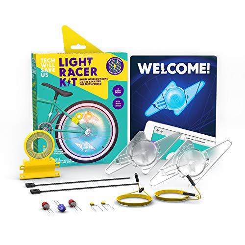 Tech Will Save Us Light Racer Kit Educational DIY Bike Lights Ages 8 & Up