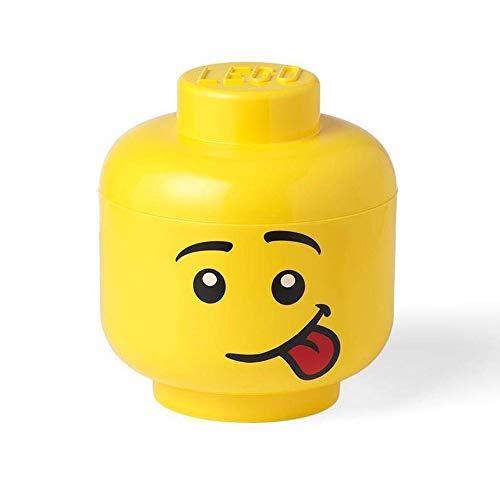 Room Copenhagen 40321726 Lego Storage Head Large-Silly Yellow