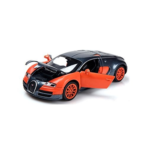 ZHFUYS 1:32 Bugatti Veyron Alloy Model Cars Toy Cars for 2 to 7 Years
