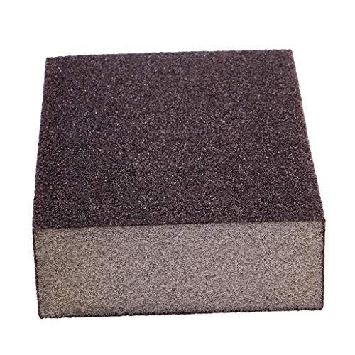 Abrasive Wet and Dry Sanding Foam Sponge Block Sandpaper for Model Toys Woodcrafts Polishing 100x70x27mm