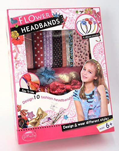 GIRL FUN TOYS Flower Head Bands Decorate It Your Self