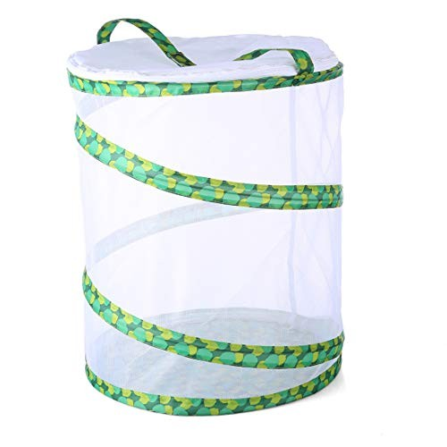 Yamix Mesh Grasshopper Silkworm Firefly Butterfly House and Insect Habitat Cage Terrarium Pop-up 138