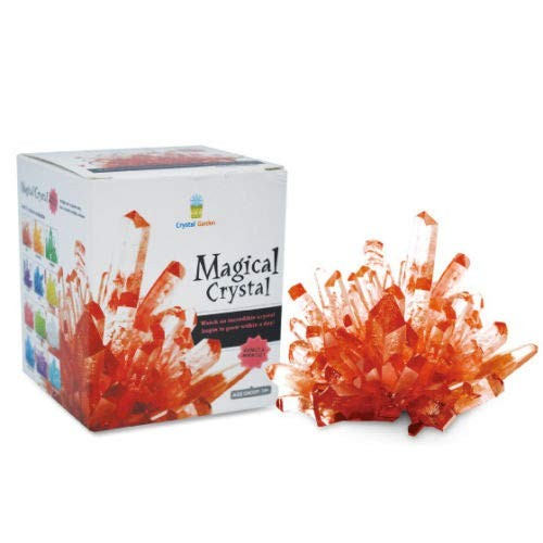 Big Game Toys~Magic Crystal Growing Kit Mystic Rock Garden DIY Science Experiment Ruby red