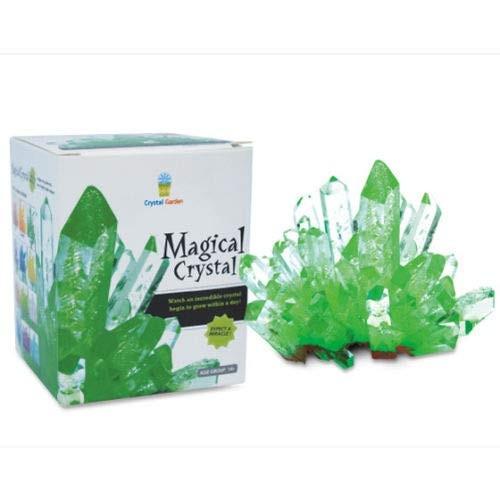 Big Game Toys~Magic Crystal Growing Kit Mystic Rock Garden DIY Science Experiment Emerald Green
