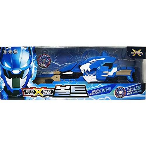Miniforce Mini Force X Ranger Weapon Bolt Blue Transweapon Gun Sword Toy Set