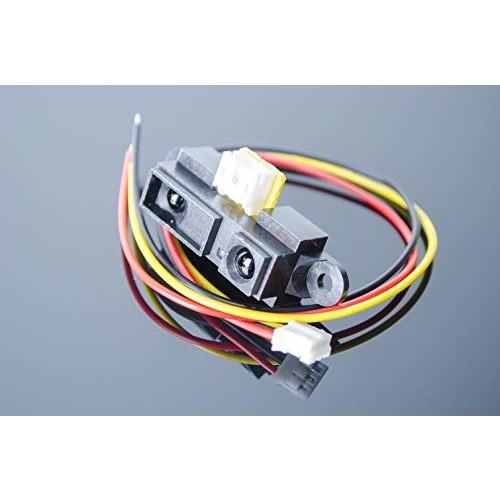 ACROBOTIC Infrared IR 10~80cm Analog Distance Proximity Sensor for Arduino Raspberry Pi ESP8266 3~5VDC Sharp 2Y0A21 GP2Y0A21 Robot