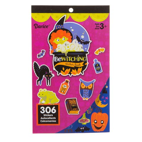 Halloween Sticker Book for Kids Bewitched 306 Stickers