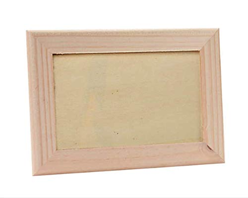 DIY Wood Unfinshed Picture Frames Make Your Own Frame Kits for Kids Paint and Decorate Crafts Pack of 2