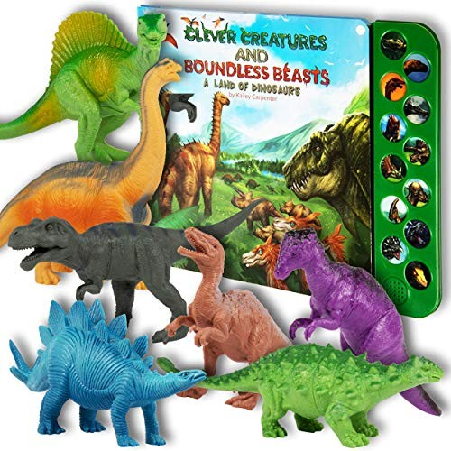 Li'l-Gen Dinosaur Toys for Boys and Girls 3 Years Old & Up – Realistic