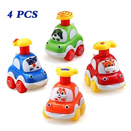 Amy & Benton Baby Toy Cars for 1 Year Old Toddler Birthday Gift Toys